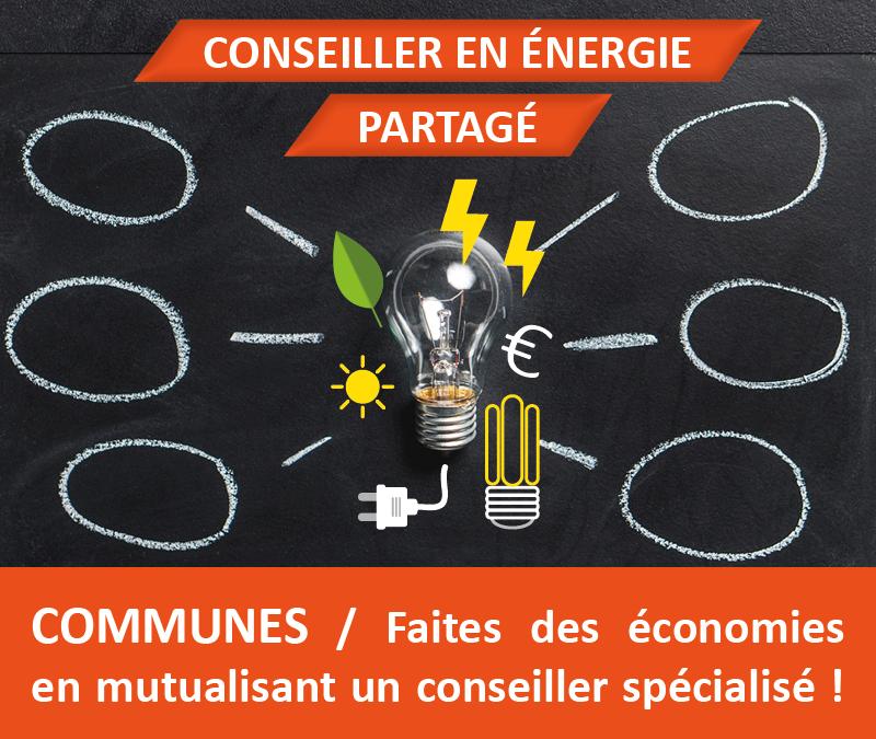 Conseil en énergie partagé pour les communes