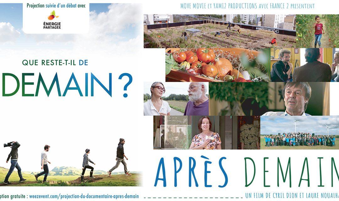 """Ciné-débat """"Après-demain"""""""